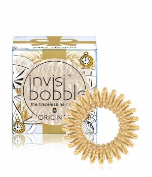 Invisibobble I Live in Wonderland Original Golden Adventure Haargummi für Damen und Herren