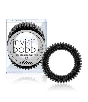 Invisibobble Slim True Black Haargummi für Damen und Herren