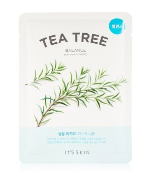 It's Skin The Fresh Tea Tree  Tuchmaske für Damen und Herren