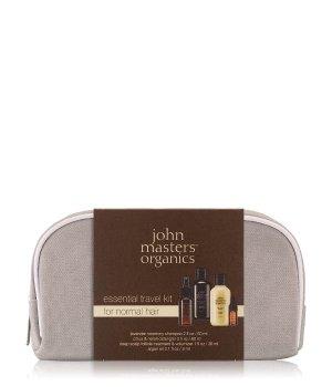 John Masters Organics Essential Travel Kit Normal Hair Haarpflegeset für Damen und Herren