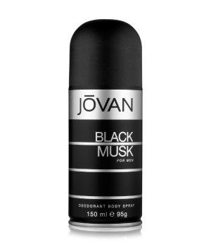 Jovan Black Musk For Men Deodorant Spray für Herren