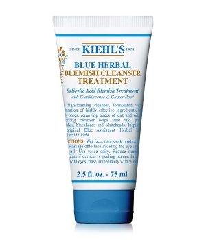 Kiehl's Blue Herbal Blemish Cleanser Reinigungsgel für Damen und Herren