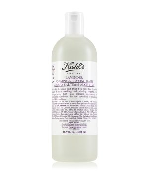 Kiehl's Lavender Foaming-Relaxing Bath Sea Salts and Aloe Badeschaum für Damen und Herren