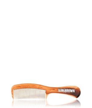 King Brown Handle Comb Tort Griffkamm für Herren