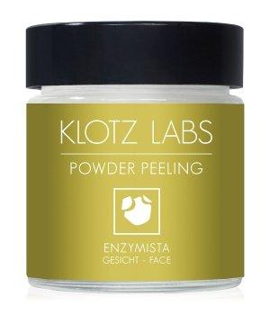 KLOTZ LABS Enzymista Powder Peeling Gesichtspeeling für Damen und Herren
