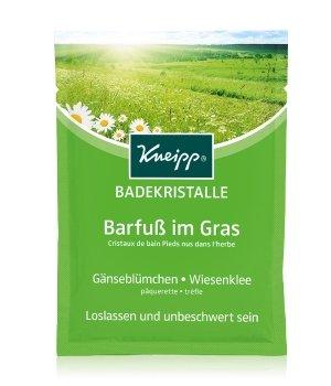 Kneipp Barfuß im Gras Gänseblümchen - Wiesenklee Badesalz für Damen und Herren