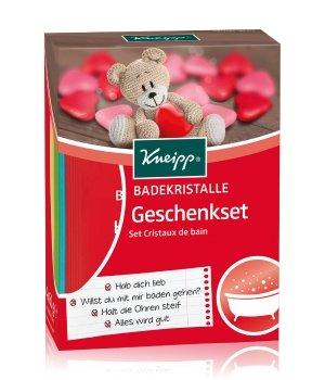 Kneipp Badekristalle Geschenkset Körperpflegeset für Damen und Herren