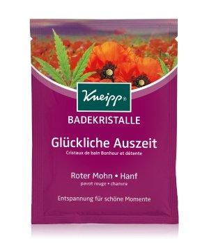 Kneipp Glückliche Auszeit Roter Mohn - Hanf Badesalz für Damen und Herren