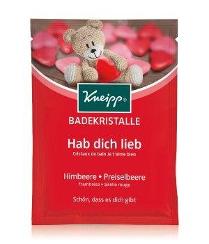 Kneipp Hab Dich Lieb Himbeere - Preiselbeere Badesalz für Damen und Herren