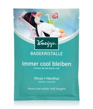Kneipp Immer cool bleiben Minze - Menthol Badesalz für Damen und Herren