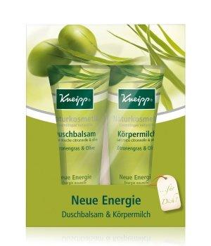 Kneipp Neue Energie Zitronengras & Olive Körperpflegeset für Damen und Herren