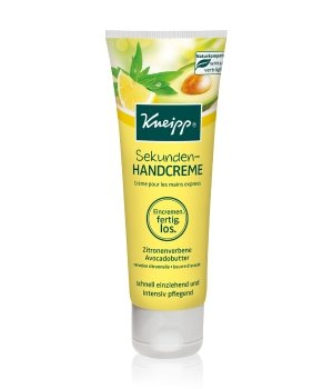 Kneipp Sekunden-Handcreme Zitronenverbene - Avocadobutter Handcreme für Damen und Herren