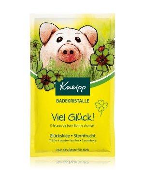 Kneipp Viel Glück Glücksklee - Sternfrucht Badesalz für Damen und Herren