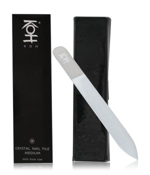 KOH Crystal Nail File Medium Nagelfeile für Damen