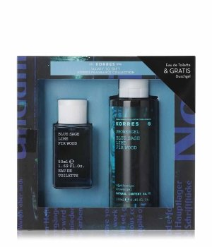 Korres Blue Sage Lime & Fir Wood Duftset für Herren