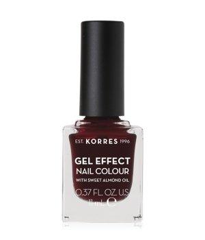 Korres Gel Effect  Nagellack 11 ml Nr. 57 - Burgundy Red