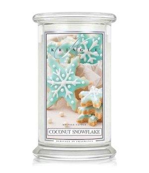 Kringle Candle Coconut Snowflake  Duftkerze für Damen und Herren