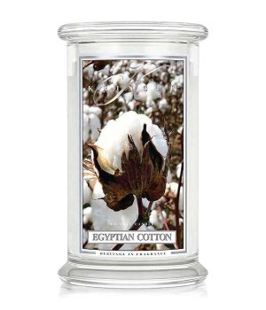 Kringle Candle Egyptian Cotton  Duftkerze für Damen und Herren