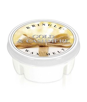 Kringle Candle Gold & Cashmere Wax Melt Duftkerze für Damen und Herren