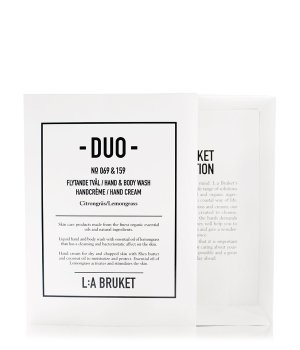 L:A Bruket Lemongrass Duo-Kit No. 069 & 159 Körperpflegeset für Damen und Herren
