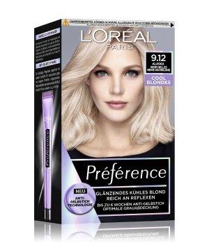L'Oréal Paris Préférence Cool Blondes Nr. 9.12 - Sehr Helles Beige Aschblond Haarfarbe für Damen