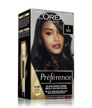 L'Oréal Paris Préférence Nr. 1 - Schwarz Haarfarbe für Damen
