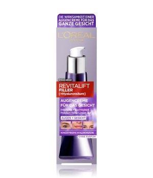 L'Oréal Paris Revitalift Filler Augencreme für das Gesicht mit Hyaluronsäure Augencreme für Damen
