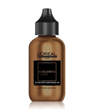 L'Oréal Professionnel #COLORFULHAIR Flash Pro Hair Make-Up Haarfarbe 60 ml Uptown Brown - Samtig