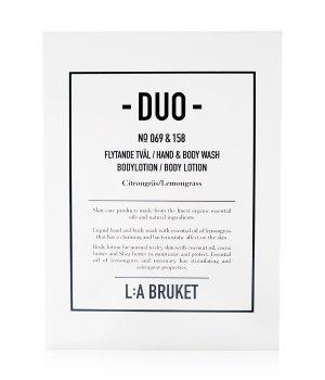 L:A Bruket Lemongrass Duo-Kit Körperpflegeset 1 Stk