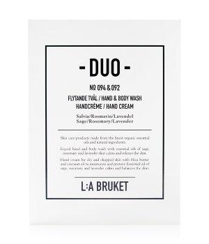 L:A Bruket Sage Rosemary Lavender Duo-Kit Körperpflegeset für Damen und Herren