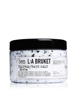L:A Bruket Mint No. 065 Badesalz für Damen und Herren
