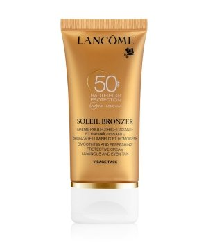 Lancôme Soleil Bronzer Crème Visage SPF 50 Sonnencreme für Damen und Herren