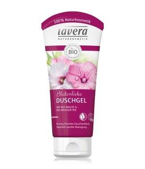 lavera Bio-Malve & Bio-Weißer Tee Blütenliebe Duschgel für Damen und Herren