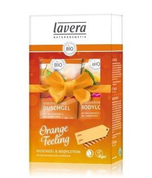lavera Bio-Orange & Bio-Sanddorn  Körperpflegeset für Damen