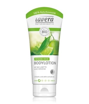 lavera Frische Kick Bio-Limone & Bio Verveine Bodylotion für Damen