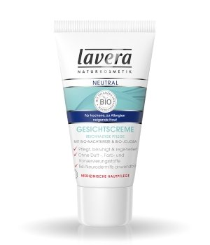 lavera Neutral Bio-Nachtkerze & Bio-Jojoba Gesichtscreme für Damen und Herren