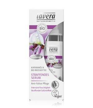 lavera Straffendes Serum Karanjaöl & Bio-Weißer Tee Gesichtsserum für Damen und Herren