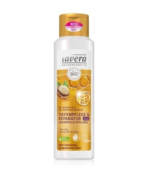 lavera Tiefenpflege & Reparatur 2 in 1 Haarshampoo für Damen