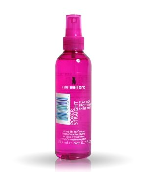 Lee Stafford Poker Straight Flat Iron Protection Shine Mist Föhnspray für Damen