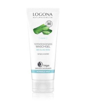 Logona Bio-Aloe Vera & Bio-Damaszener Rose Vitalisierend Reinigungsgel für Damen und Herren