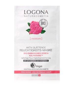 Logona Bio-Damaszener Rose & Kalpariane Aktiv glättend Gesichtsmaske für Damen