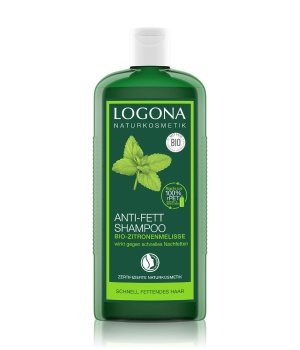 Logona Bio-Zitronenmelisse Anti-Fett Haarshampoo für Damen