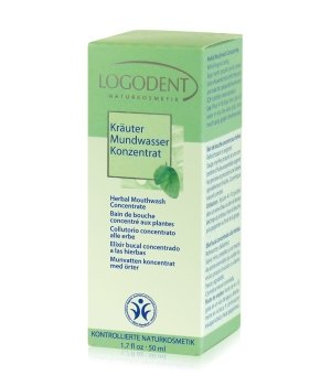 Logona Logodent Kräuter Mundspülung für Damen und Herren