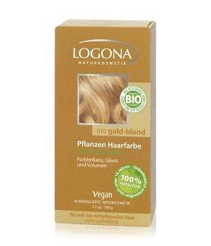 Logona Pflanzen Pulver Goldblond Haarfarbe für Damen und Herren