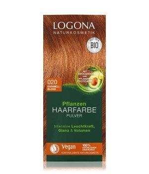 Logona Pflanzen Pulver Karamellblond  Haarfarbe für Damen und Herren
