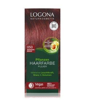 Logona Pflanzen Pulver Mahagonibraun  Haarfarbe für Damen und Herren