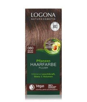 Logona Pflanzen Pulver Naturbraun Haarfarbe für Damen
