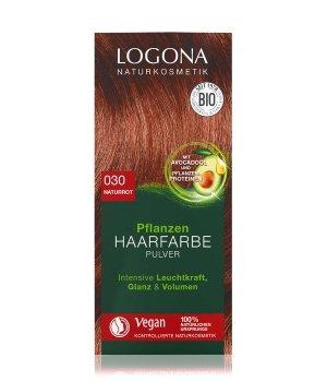 Logona Pflanzen Pulver Naturrot Haarfarbe für Damen und Herren