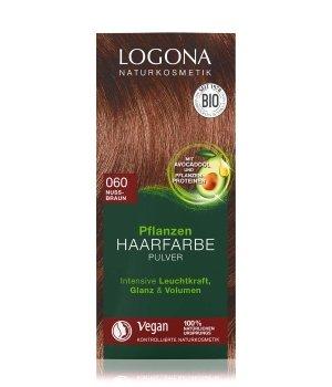Logona Pflanzen Pulver Nussbraun  Haarfarbe für Damen und Herren