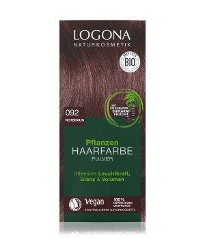 Logona Pflanzen Pulver Rotbraun  Haarfarbe für Damen und Herren